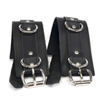 Lethal leather cuffs