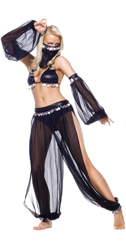 Arabian dancer costume