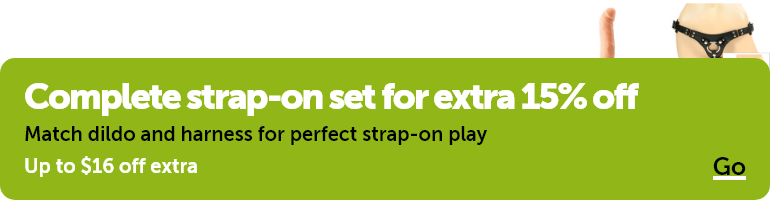 Complete strap-on set for extra 15% off